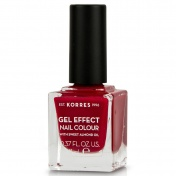 Korres Gel Effect Nail Colour No56 Celebration Red 11ml