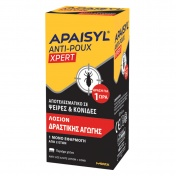 Apaisyl Anti-Poux Xpert Lotion 100ml & Χτένα