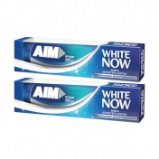 Aim White Now Οδοντόκρεμα 75ml 1+1 ΔΩΡΟ