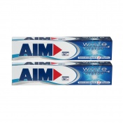 Aim White System Οδοντόκρεμα 75ml 1+1 ΔΩΡΟ