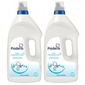 Proderm Υγρό Απορρυπαντικό 40 μεζούρες 2,8Lt  - Promo Pack 2 τεμάχια -20%