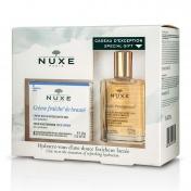 Nuxe Promo Pack Creme Fraiche De Beaute Creme Riche Hydratante 48h 50ml & ΔΩΡΟ Huile Prodigieuse 30ml