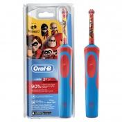 Oral B Kids Ηλεκτρική Οδοντόβουρτσα 3+ Ετών Disney Incredibles