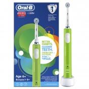 Oral B Junior Ηλεκτρική Οδοντόβουρτσα  6+ Ετών Πράσινο
