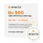 Enecta Gc 500mg CBG Κρύσταλλοι 0,5gr