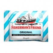 Fisherman's Friend Original Καραμέλες με Γεύση Μινθόλης & Ευκαλυπτου Χωρίς Ζάχαρη 25g