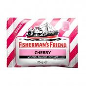 Fisherman's Friend Cherry Καραμέλες με Γεύση Κεράσι και Μενθόλη Χωρίς Ζάχαρη 25g