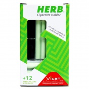 Vican Herb Cigarette Holder με 12 Φίλτρα & Θήκη