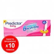Predictor 10 Τεμάχια Predictor Early Test 6 Ημέρες Νωρίτερα