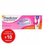 Predictor 10 Τεμάχια Predictor Early & Express Test Εγκυμοσύνης 2τμχ