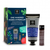 Apivita Promo Pack One Handred Kisses Hypericum & Beeswax Κρέμα Χεριών 50ml & Lip Care Propolis 4.4g