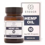 Endoca Κάψουλες Hemp Oil 300mg CBD 30caps των 10mg