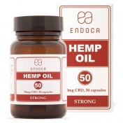 Endoca Κάψουλες Hemp Oil 1500mg CBD 30caps των 50mg