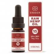 Endoca RAW Hemp Oil Drops 1500mg CBD + CBDa (15%) 10ml