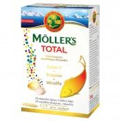 Moller's Total Ωμέγα 3 Βιταμίνες & Μέταλλα 28 caps + 28 tabs
