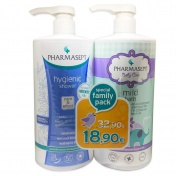 Pharmasept Special Family Pack Baby Mild Bath 1Lt & Hygienic Shower 1Lt
