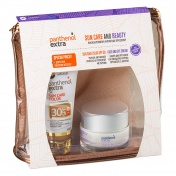 Panthenol Extra Promo Pack Sun Care & Beauty Sun Care Color SPF30 50ml & ΔΩΡΟ Face & Eye Cream 50ml σε Υπέροχο Νεσεσέρ