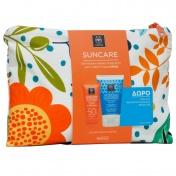 Apivita Promo Pack Suncare Anti Wrinkle Αντιρυτιδική Κρέμα Προσώπου SPF50 50ml & ΔΩΡΟ After Sun 100ml σε Καλοκαιρινό Νεσεσέρ