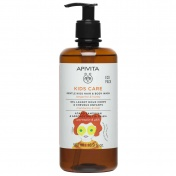 Apivita Eco Pack Kids Σαμπουάν & Αφρόλουτρο με Μανταρίνι & Μέλι 500ml