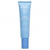 Apivita Aqua Beelicious Δροσιστικό Gel Ενυδάτωσης για τα Μάτια με Λουλούδια & Μέλι 15ml