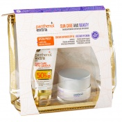 Panthenol Extra Promo Pack Sun Care & Beauty Sun Care Diaphanous SPF50 50ml & ΔΩΡΟ Face and Eye Cream 50ml σε Υπέροχο Νεσεσέρ