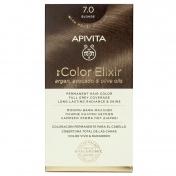 Apivita My Color Elixir Μόνιμη βαφή Μαλλιών N7,0 Φυσικό ξανθό