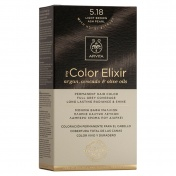 Apivita My Color Elixir Μόνιμη βαφή Μαλλιών N5,18 Καστανό ανοιχτό