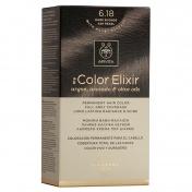 Apivita My Color Elixir Μόνιμη βαφή Μαλλιών N6,18 Ξανθό σκούρο σαντρε