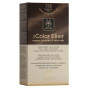 Apivita My Color Elixir Μόνιμη βαφή Μαλλιών N7,13 Ξανθό σαντρέ μελί