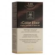 Apivita My Color Elixir Μόνιμη βαφή Μαλλιών N5,85 Καστανό ανοιχτό περλέ