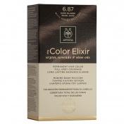 Apivita My Color Elixir Μόνιμη βαφή Μαλλιών N6,87 Ξανθό σκούρο περλέ