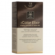 Apivita My Color Elixir Μόνιμη βαφή Μαλλιών N7,8 Ξανθό περλέ