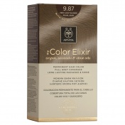 Apivita My Color Elixir Μόνιμη βαφή Μαλλιών N9,87 Ξανθό πολύ ανοιχτό περλέ μπεζ