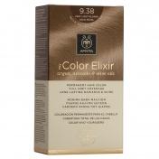Apivita My Color Elixir Μόνιμη βαφή Μαλλιών N9,38 Ξανθό πολύ ανοιχτό μελί περλέ