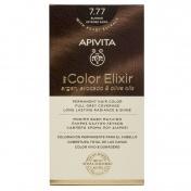 Apivita My Color Elixir Μόνιμη βαφή Μαλλιών N7,77 Ξανθό έντονο μπεζ