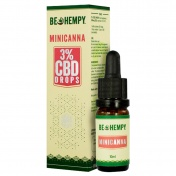 Be Hempy MiniCanna Hemp Oil Drops 300mg CBD 3% 10ml