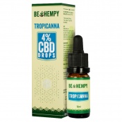 Be Hempy TropiCanna Hemp Oil Drops 400mg CBD 4% 10ml