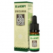 Be Hempy UniCanna Hemp Oil Drops 500mg CBD 5% 10ml