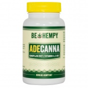 Be Hempy ADECanna Hemp Buds με Βιταμίνες A,D & E  60caps