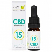 Phyto+ Organic RAW Hemp Oil Drops 1500mg CBD + CBDa (15%) 10ml