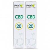 Phyto+ RAW Hemp Oil Paste 20% Πάστα CBD 2 Pack x 10gr