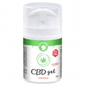Cannadorra CBD 50mg Warming Gel 50gr