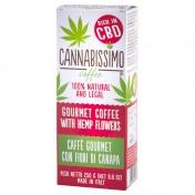 Cannabissimo Καφές με Άνθη Κάνναβης πλούσιος σε CBD Αλεσμένος 250g