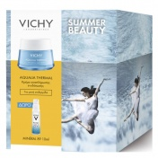 Vichy Promo Pack Summer Beauty Aqualia Thermal Gel Creme Rehydratante 50ml & ΔΩΡΟ Mineral 89 10ml