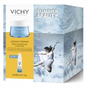 Vichy Promo Pack Summer Beauty Aqualia Thermal Creme Rehydratante Riche 50ml & ΔΩΡΟ Mineral 89 10ml