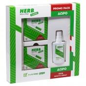 Vican Herb Promo Pack με Micro Filter Classic Πίπες 2x12 τεμ & ΔΩΡΟ Αποσμητικό Spray Στόματος με Άρωμα Δυόσμου 15ml