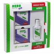 Vican Herb Promo Pack με Micro Filter Slim Πίπες 2x12 τεμ & ΔΩΡΟ Αποσμητικό Spray Στόματος με Άρωμα Δυόσμου 15ml