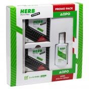 Vican Herb Promo Pack με Micro Filter Στριφτό Πίπες 2x12 τεμ & ΔΩΡΟ Αποσμητικό Spray Στόματος με Άρωμα Δυόσμου 15ml