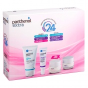 Panthenol Extra  Promo Pack 24 - Day Cream SPF15 50ml, Night Cream 50ml, Triple Defence Eye Cream 25ml & Face Cleansing Gel 150ml