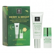 Apivita Promo Pack Merry & Bright Κρέμα Bee Radiant SPF30 40ml με ΔΩΡΟ Bee Radiant Κρέμα Ματιών 15ml